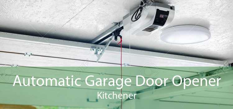 Automatic Garage Door Opener Kitchener