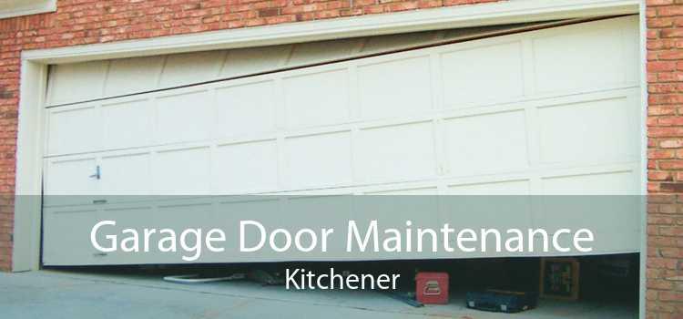 Garage Door Maintenance Kitchener