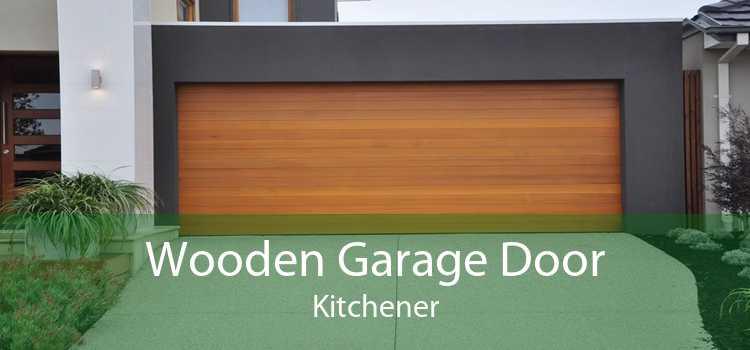 Wooden Garage Door Kitchener